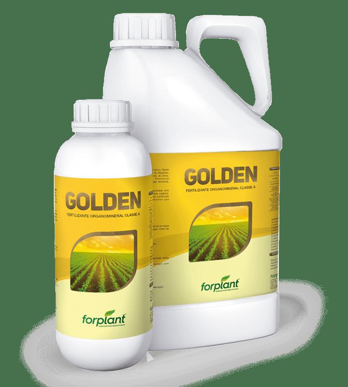 Golden - Fertilizante Foliar Cuide bem da sua riqueza, o organomineral completo!