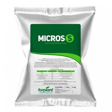 Micros S - Fertilizante Foliar Nutrientes essenciais para maior produtividade!