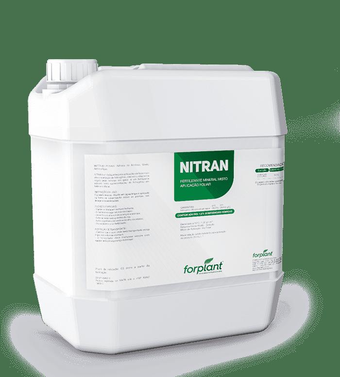 Nitran - Fertilizante Foliar Nutrientes essenciais para o desenvolvimento da planta