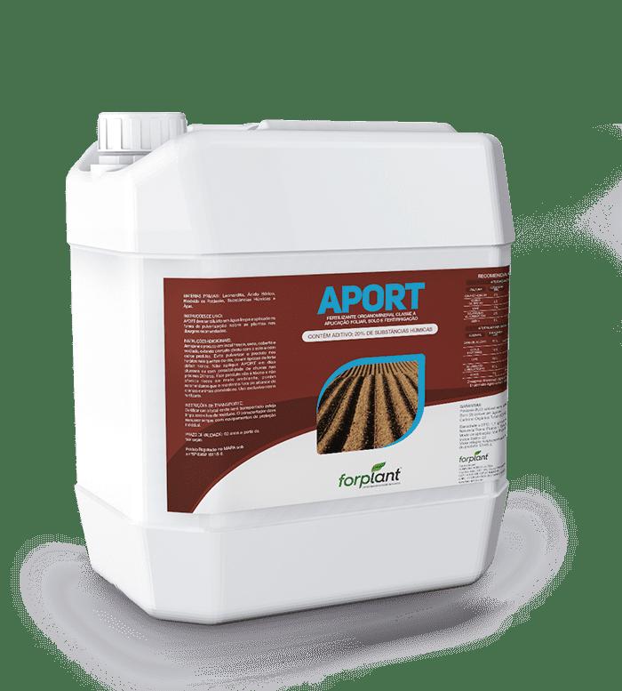 Aport O fertilizante que enriquece seu cultivo