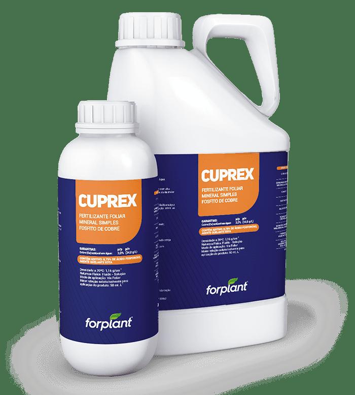 Cuprex - Fertilizante Foliar Maior proteção e vigor às plantas