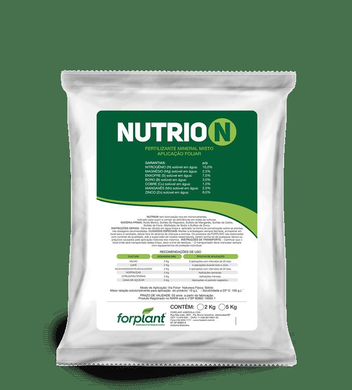 Nutrion - Fertilizante Foliar Nutrientes essenciais para maior produtividade!